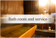 Bath room and service